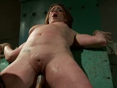 CiCi Rhodes is Isis Loves slave girl with shaved puffy pussy increased hard by juicy ass that gets tortured increased hard by fucked. She takes dildo increased hard by gets fisted hard by crazy woman.