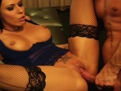 Rachel Starr loves procurement her moist pussy hammered