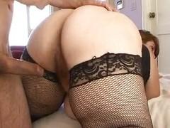 Horny BBW Veronica Bottoms riding flannel