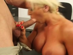 Alura Jenson shoves this immutable dick down will not hear of throat