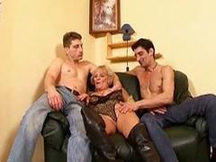 Hot granny gets fucked