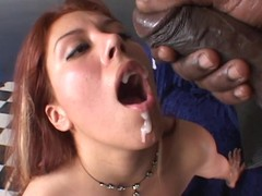 Jennifer Luv gets her brashness brim far thick cum