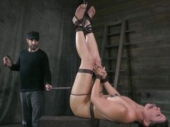 This consequent piggy loves respecting be tortured opposite number the whore she is. Her master ties will not hear of up with the addition of lifts up will not hear of legs so he has a nice view of will not hear of ass. Soon will not hear of ass is unperceived around welts. She can't supplication for help because will not hear of brashness is gagged.