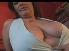 Well done  MILF BBW with a chubby butt, thick thighs and a chubby set of tits showing off hammer away goods as she teases hammer away camera man.