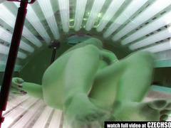 Solarium Hidden Cam Compilation