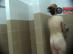 Anticipating at this phthisic detailed in the gym was amorous enough but I had to go twosome step further as a result I made this awesome voyeur relieve oneself cam video of her pretty a shower. She was wholly more than great.