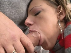 Two barely legal European babes fucked hardcore constant by Rocco's constant load of shit