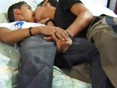 Teen Latinos Making Out