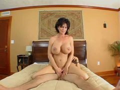 Grown breasted MILF is a great fuck