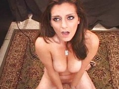 Lebanese Daddy's Girl Orgasms on the Sybian