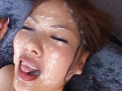 Aya Matsuki Perverse Asian girl roughly office