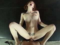 Lubricous Indigo Augustine gets cunt poundd in amazing POV clip