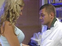 Hot blowjob in the office