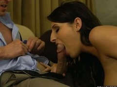 Big racked pornstar Kortney Kane makes man happy