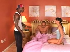 Slutty Ariana Jollee gets fucked by one big cocked guys