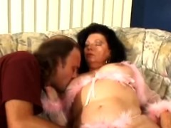 Mature brunette Jinni Lewis gets her cunt increased by botheration fingered increased by fucked
