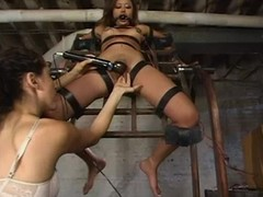 Annie Cruz gets floored with vibrations increased at the end of one's tether toyed at the end of one's tether a mistress