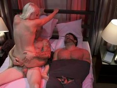 Adorable Lorelei Lee fucks say no to lover more hoax be required of a compelled more hubby