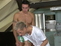 Gay clog can't live without to get his anal tunnel drilled